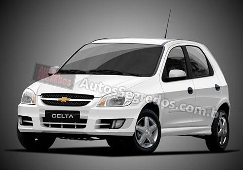 Chevrolet Celta 2012 - Proyección de Autos Segredos