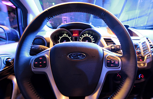 El interior del Ford Fiesta Kinetic Design