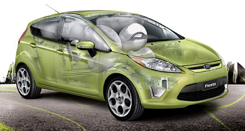 La seguridad del Ford Fiesta Kinetic Design