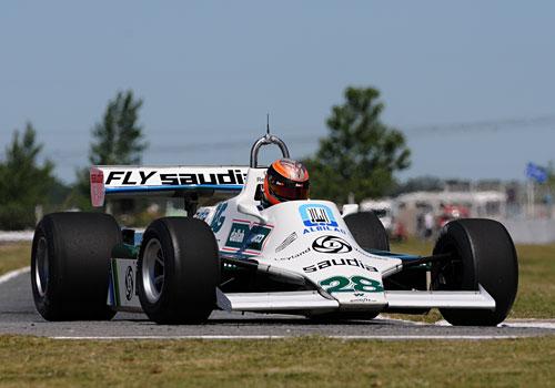 Gastón Mazzacane sobre el Williams de F-1 ex Reutemann -  Foto: ACTC.