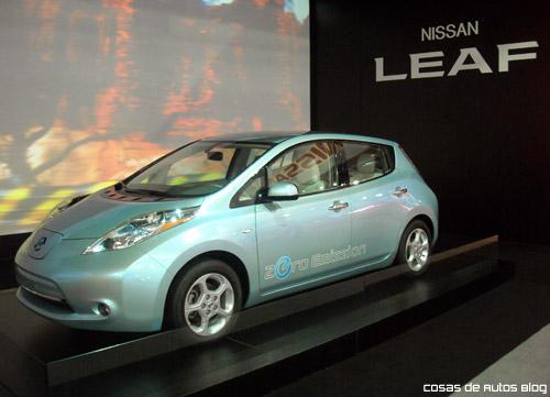 Nissan Leaf en el Salón de San Pablo 2010 -  Foto: Cosas de Autos Blog