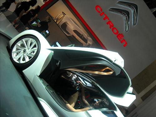 GT by Citroen en el Salón de San Pablo 2010.
