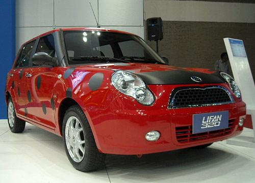 Lifan 320 en el Salón de San Pablo 2010 -  Foto: Cosas de Autos Blog