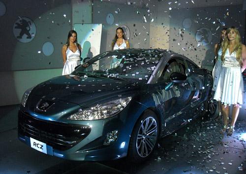 Presentación del Peugeot RCZ