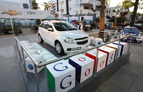 Chevrolet Agile con WiFi