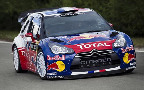 Citroen DS3 de WRC