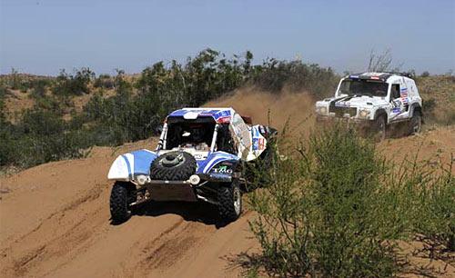 Spataro finalizó 35 el Dakar 2011