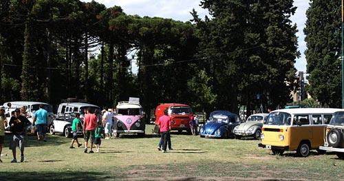 Primer encuentro Sudamericano de VW refrigerados por aire 2011