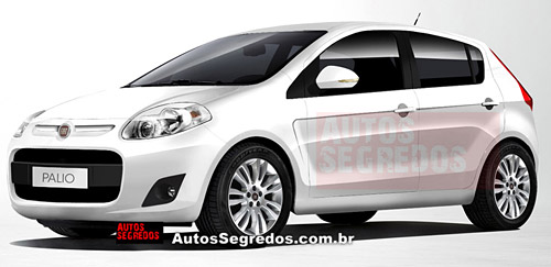 Fiat Proyecto 326 proyección de Autos Segredos