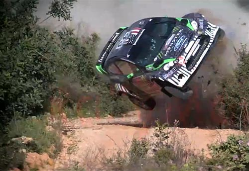 Ken Block y su accidente en el Rally de Portugal