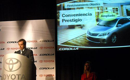 Gustavo Salinas, Director Comercial de Toyota Argentina