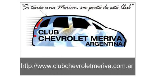 Club Chevrolet Meriva Argentina