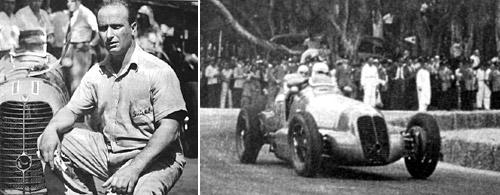 Fangio en el Gran Premio de Buenos Aires de 1948