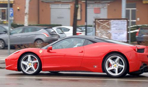 Primera acelerada de la 458 Italia.