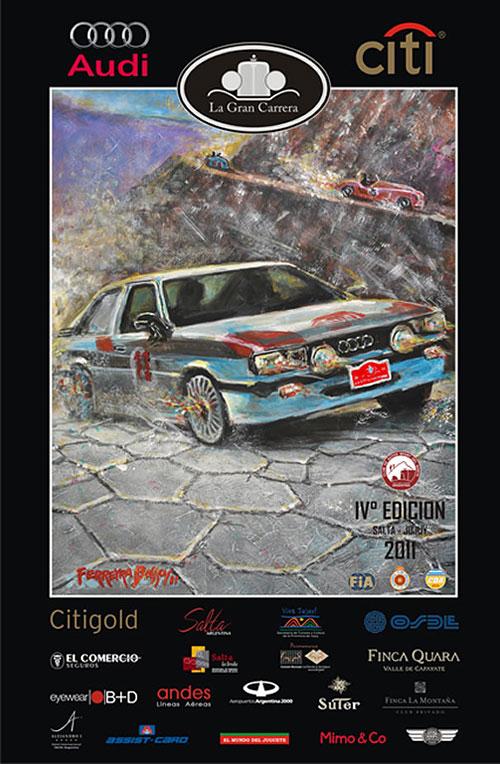 La Gran Carrera 2011 - Afiche de Jorge Ferreyra Basso.