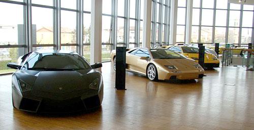 Museo Lamborghini.