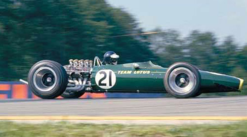 Lotus de Jim Clark de 1967