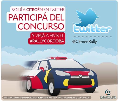 Citroën Argentina lanza una acción en Twitter