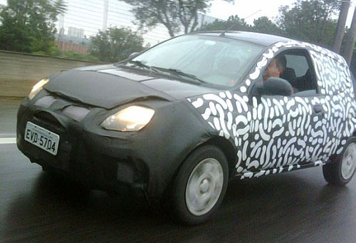 Ford Ka restyling 2012