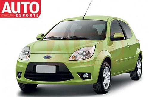 Restyling 2012 del Ford Ka Mercosur - Proyección: Auto Esporte