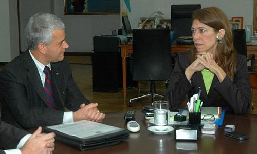 Sergio Rocha y Debora Giorgi -  Foto: Archivo