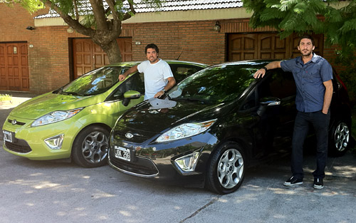 Test del Ford Fiesta Kinetic Design - Foto: Cosas de Autos