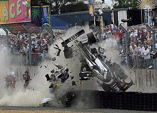 El golpe de McNish en las 24 Horas de Le Mans 2011
