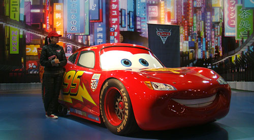 Rayo McQueen de la película Cars 2