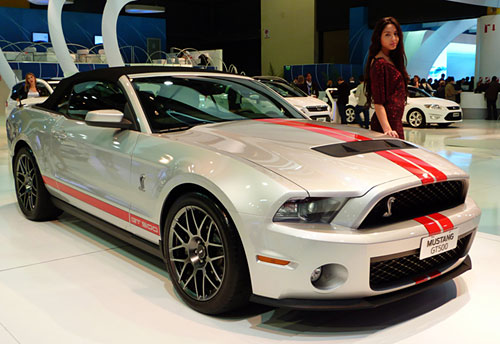 Ford Mustang GT 500 Cabrio