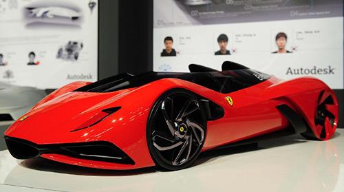 Eternità ganador del Concurso Mundial de Diseño de Ferrari