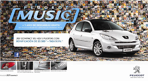 Peugeot Music