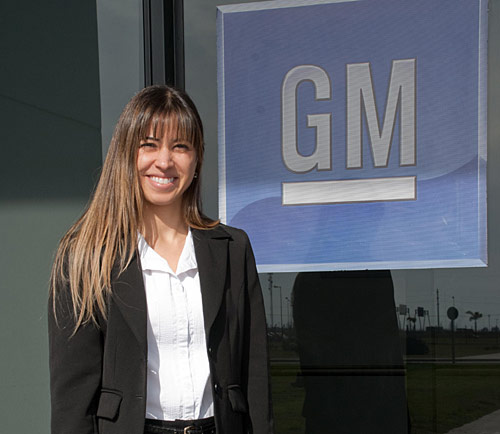 Ana Cristina Avelino, Directora de Manufactura del Complejo Automotor de GM en Rosario