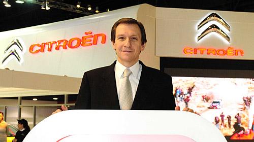 Osvaldo Marchesin, Director de Ventas de Citroën Argentina