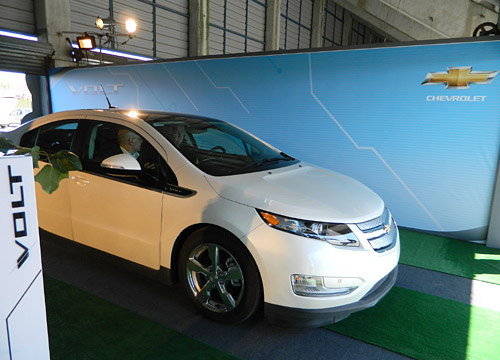 Green Test Drive con el Chevrolet Volt - Foto: Cosas de Autos