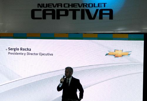 Sergio Rocha, presidente de GM Argentina
