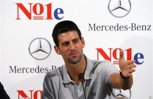 Novak Djokovic nuevo embajador de Mercedes-Benz