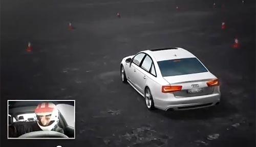 Al nuevo Audi A6 podés manejarlo desde tu teclado