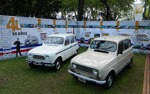 50 años del Renault 4 en Autoclásica 2011