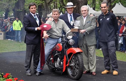 Harley Davidson VFD1200 de 1934, Best of Show de Autoclásica 2011