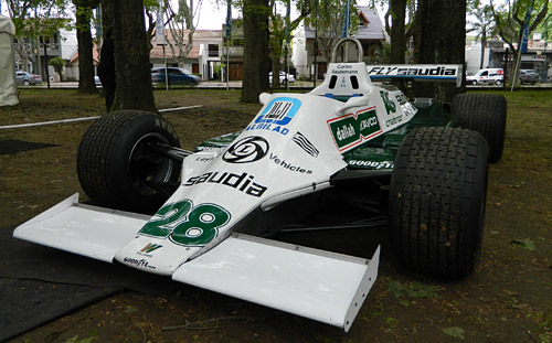 El Williams 1980 de Fórmula 1 brilló en la Autoclásica 2011.