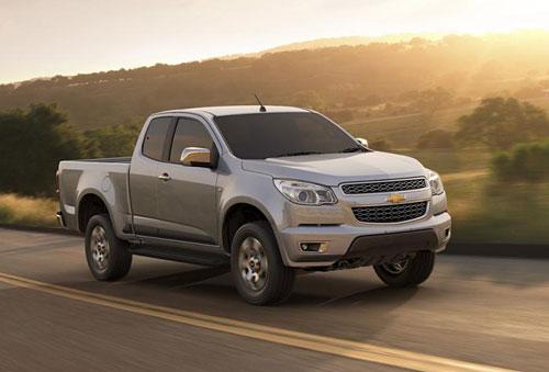 Chevrolet Colorado presentada en Tailandia. Foto: GM