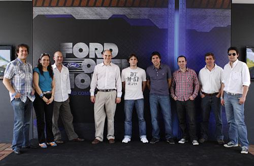 Los medios argentinos participantes del Ford Open Source en Tatuí, San Pablo