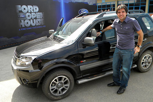 Cosas de Autos presente en el Ford Open Source en Tatuí, San Pablo.