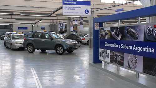 Subaru Spa Day 2011