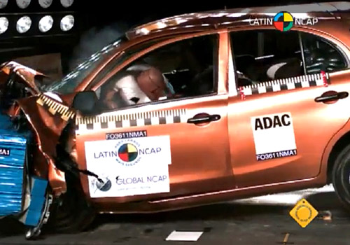 Nissan March en la Fase II del LatinNCAP