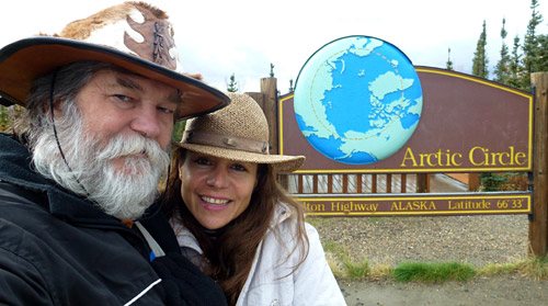 Misión cumplida: llegaron al Círculo Polar Ártico tras recorrer más de 33.000 kms.