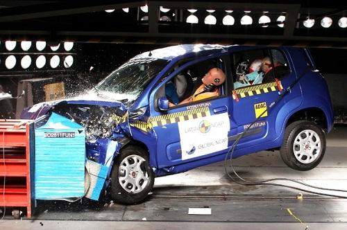 El Nuevo Fiat Uno sólo obtuvo una estrella en los tests de la LatinNCAP.