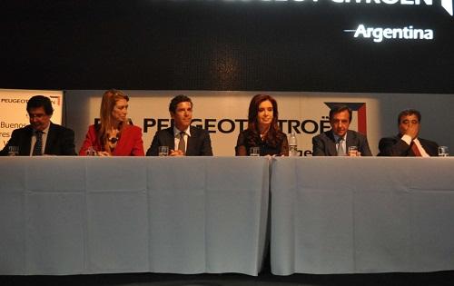 Peugeot realizó el lanzamiento industrial del 308 nacional