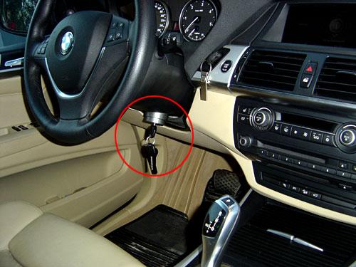 El sistema Zeder instalado en una BMW X5.
