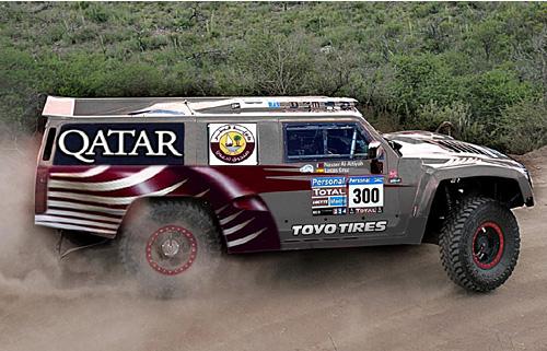 Así se verá el Hummer de Nasser Al Attiyah